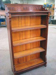 Stiltskin Studios Eastlake Bookcase Woodwork Pinterest Library Inspiration And Restoration