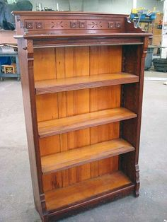 Beautiful Eastlake bookcase.