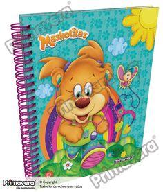 Cuaderno Pasta Dura Maskotitas http://escolar.papelesprimavera.com/product/cuaderno-pasta-dura-infantil-primavera-4/