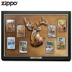 Forest Kings Deer Zippo Lighter Collection