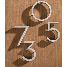 DESIGN WITHIN REACH  NEUTRA HOUSE NUMBERS