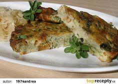 Škvarkový kapusťák recept - TopRecepty.cz Quiche, Vegetables, Breakfast, Food, Style, Morning Coffee, Swag, Stylus, Quiches