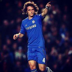 David Luiz. Go Chelsea!