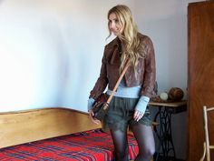 Trench Collection by Sonia Verardo: H&M Fall Campaign Lace Shorts Styling