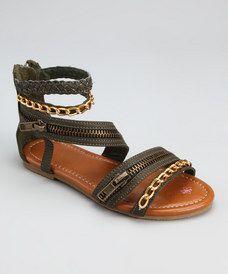 Gladiator Sandals for little girls