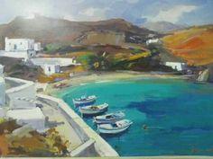 Κολοκυθας βασιλης Greeks, Painters, Artists, Places, Outdoor Decor, Artist, Lugares