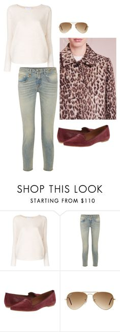 """""""Ruby leopard"""" by arcticjasmine on Polyvore featuring Christian Wijnants, R13, Summit by White Mountain and Ray-Ban"""