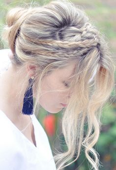 more byaranka hair inspiration pictures little braids and a messy bun