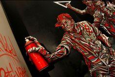 Street Artist SHAKA's Amazing 3D Graffiti Art