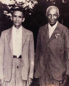 Isaac Hathaway and George Washington Carver