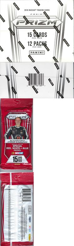 Auto Racing Cards 666: 2016 Panini Prizm Nascar Racing Trading Cards New 12Pk Fat Pack Box -> BUY IT NOW ONLY: $49.45 on eBay!