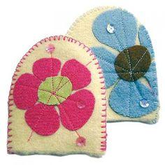 Blanket Blooms egg cosies