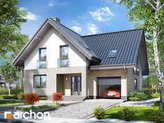 projekt Dom w liatrach widok 1