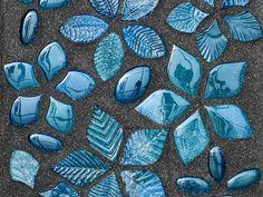 Glass Mosaic FOGLIE FANTASIA by VETROVIVO