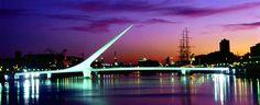 Ponde da mulher, fica em Puerto Madero o bairro mais moderno da cidade!!! Turismo Buenos Aires
