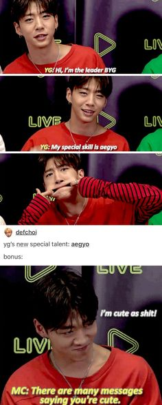 aegyo king right there
