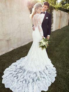 Essense Wedding Gown D1863: DimitraDesigns.com