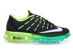 best service f8696 7f947 Site Nike Air Max 2016 Chaussures Officiel Nike Pour Homme Noir Vert