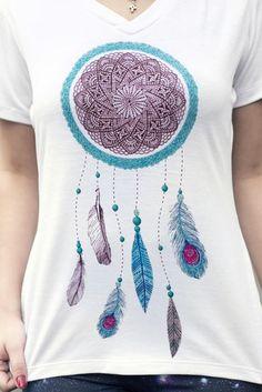 T-shirt Dreamcatcher - Wear Ever