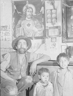 Czechoslovakia- Carpatho-Ruthenia-Gypsy Home In UshorodDate taken:April 4, 1938Photographer:Margaret Bourke-White
