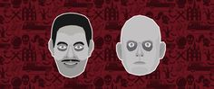 Addams Family - Gomez & Fester #addams #addamsfamily #addamsfamilyvalues #rauljulia #christopherlloyd #charlesaddams #pattern #somebuddies #illustration #horror #manor #skull #inspiration #barrysonnenfeld #fester #gomez #wednesday #pugsley #lurch #vector #lowpolygon #portrait #illustrator #graphic #graphicdesign #webagency #graphicagency #lyon #kuki