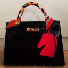 hermes bag charm black에 대한 이미지 검색결과