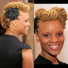 mohawk inspired with a twist #Locs
