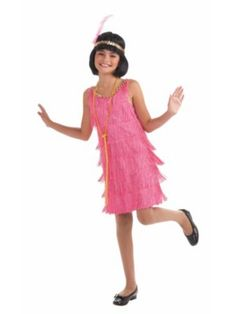 Flapper Pink Costume - This jazzy little Flapper Costume is sassy in pink but is still a classic Costume. Pink Flapper Girls Costume includes pink flapper dress with all . Flapper Girl Costumes, Flapper Girls, Flapper Style, Wholesale Halloween Costumes, Halloween Costumes For Girls, Halloween Parade, Children Costumes, Costume Halloween, Halloween Ideas