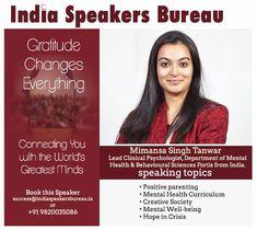 Motivational Speakers, Behavioral Science, Clinical Psychologist, Curriculum, Mental Health, Parenting, Mindfulness, Positivity, Resume