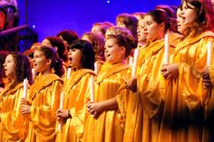 Hear the stirring story of Christmas during the Holiday Candlelight Processional at Epcot's World Showcase in the Walt Disney World Resort