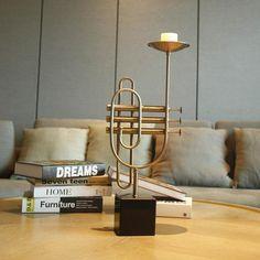 Cornet and Music Candlestick  . . #cornet #music #trumpet #sweethomemake #interiorideas #interiordesign #candle #candlestick #diyhomedecor #diyroomdecor #interior #interiorstyling #homedecoration #homedecor #livingroom #livingroomdecor