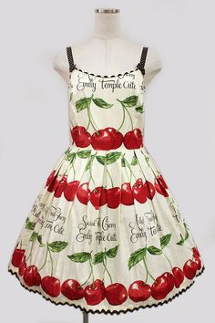 Emily Temple Cute - Cherry print