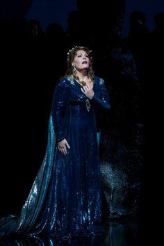 Sondra Radvanovsky, Norma, Metropolitan Opera. (Foto Marty Sohl/Met Opera)