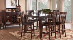 Affordable Counter Height Dining Room Sets