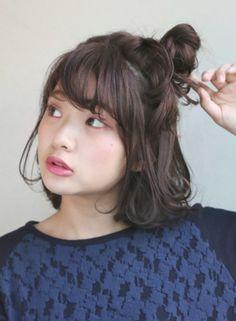 リラックスボブアレンジ 【DECO】 http://beautynavi.woman.excite.co.jp/salon/25557?pint ≪ #arrange #hairstyle・アレンジ・ヘアスタイル・髪形・髪型≫