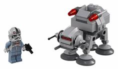 LEGO AT-AT 75075 Set LEGO Star Wars 2015 Sets Microfighters Series 2