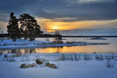 Cold rays by eswendel on DeviantArt Very Nice Pic, Archipelago, Shutter Speed, Winter Wonderland, Cool Pictures, Places To Visit, Deviantart, Cold, Island