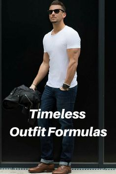 timeless outfit formulas.. #mens #fashion #style