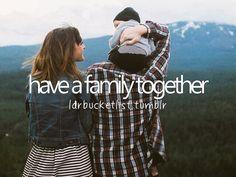 Criar a minha familia