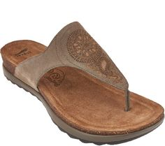 d5c8481122dac5 Dansko Patterned Leather Thong Sandals -Priya