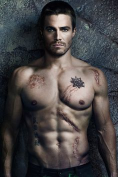 Stephen Amell from Arrow! Hot!!! -- Had the pleasure of interviewing him back when he was still an HBO talent! <3