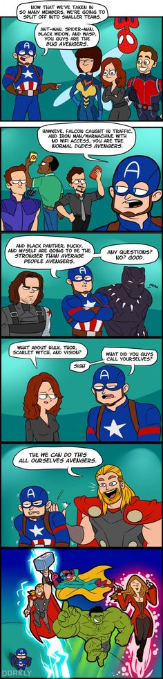 Why We Don't Need So Many Avengers