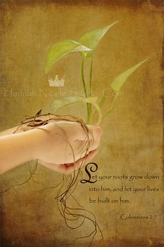 The Roots that Bind-Bible Verse Conceptual Christian Wall Art Scripture Inspirational 8x12 Print & Canvas available. $30.00, via Etsy.