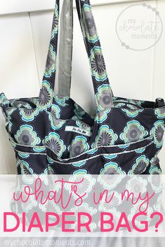 d3649e791f9a What s in my diaper bag  Ju-Ju-Be Super Be packed for an