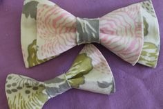bowties are for both men and women / boys and girls -- it's a unisex fashionable item! <3 I want a hot pink one! Or red. Yes, red to go with lipstick...