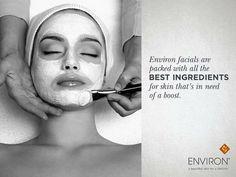 Best facials #environ #facials #skin #skincare #antiaging