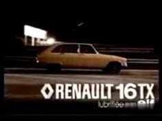 Publicité Renault 16TX