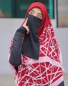 Hijab Niqab, Muslim Hijab, Arab Girls Hijab, Muslim Girls, Hijabi Girl, Girl Hijab, Hijab Dpz, Niqab Fashion, Hijab Cartoon