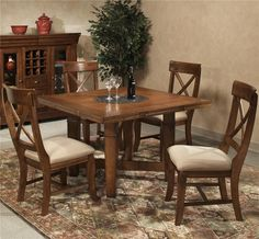 Verona Table and Chair Set by Intercon