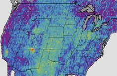 Tiny yet Mighty Methane Hotspot Discovered in the US OCT 9, 2014 // BY IAN O'NEILL : Discovery News